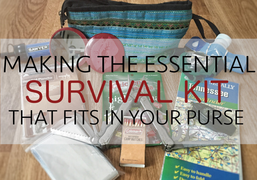 survival gear every woman needs in their purse