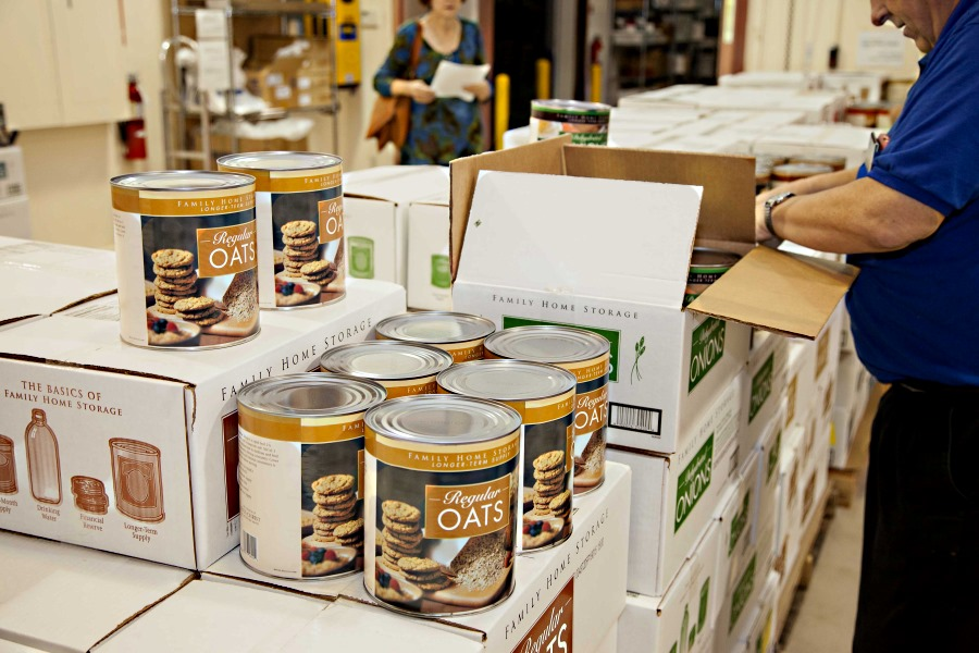doomsday preparations: stocking up on food